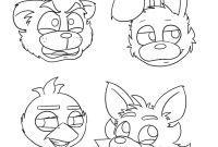 Fnaf Printable Coloring Pages - 17 Awesome Fnaf Mangle Coloring Pages