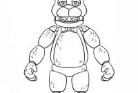 Fnaf Printable Coloring Pages - Five Nights at Freddy S Coloring to Print Coloring
