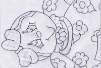 Folk Art Coloring Pages - Catia Artes Manuais Pintura Ginger Risco