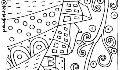 Folk Art Coloring Pages - Content 2011 08 Houses