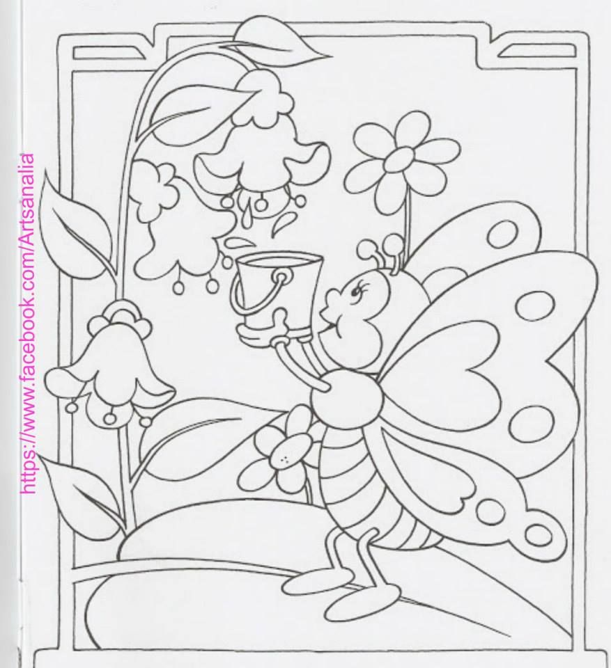Folk Art Coloring Pages  Gallery 3k - Save it to your computer