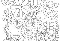 Folk Art Coloring Pages - Free Paint by Numbers for Adults Downloadable