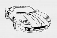 Ford Gt Coloring Pages - Coloring Pages Cars Coloring Pages Free and Printable
