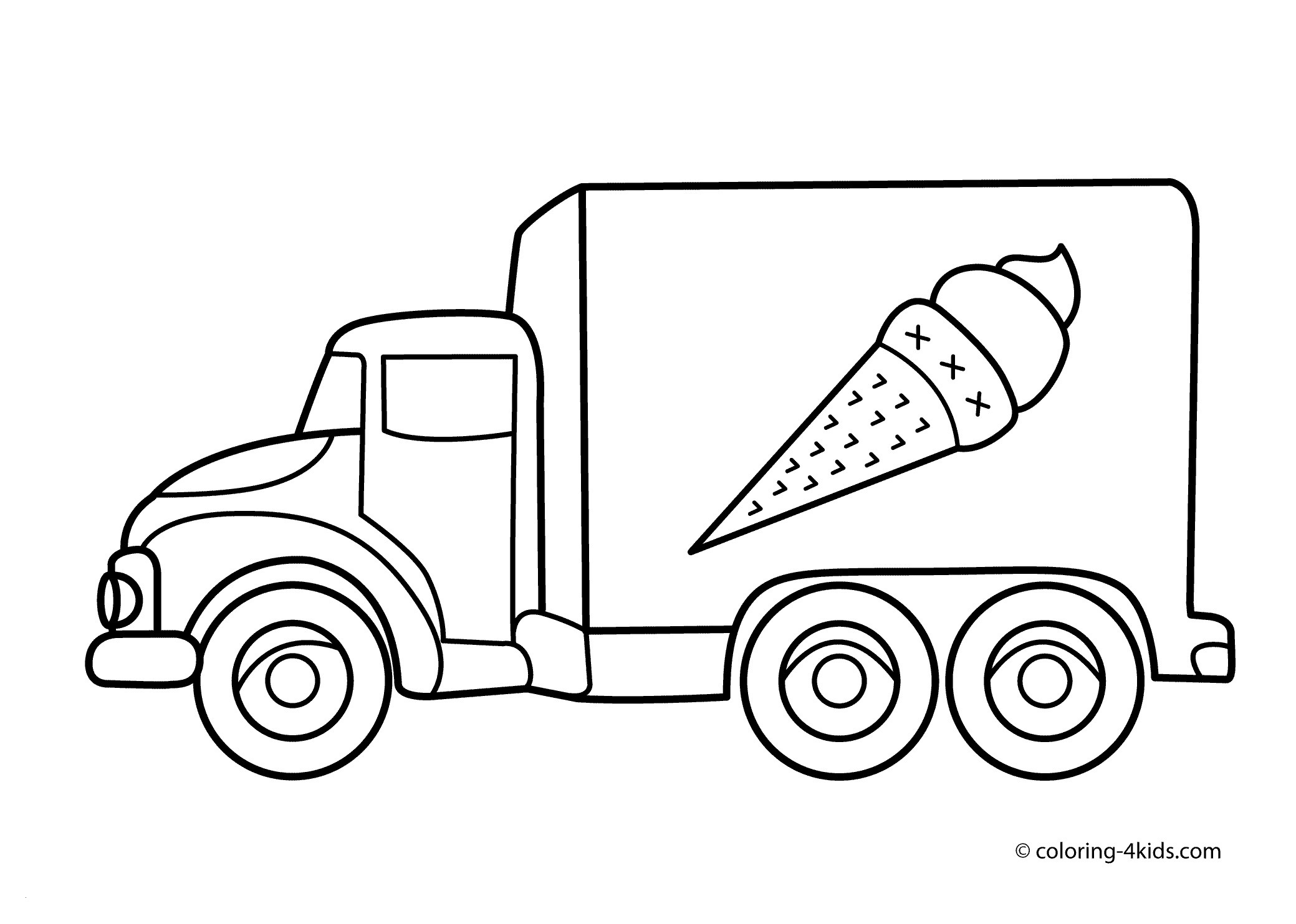 Ford Truck Coloring Pages  Printable 3l - Free Download