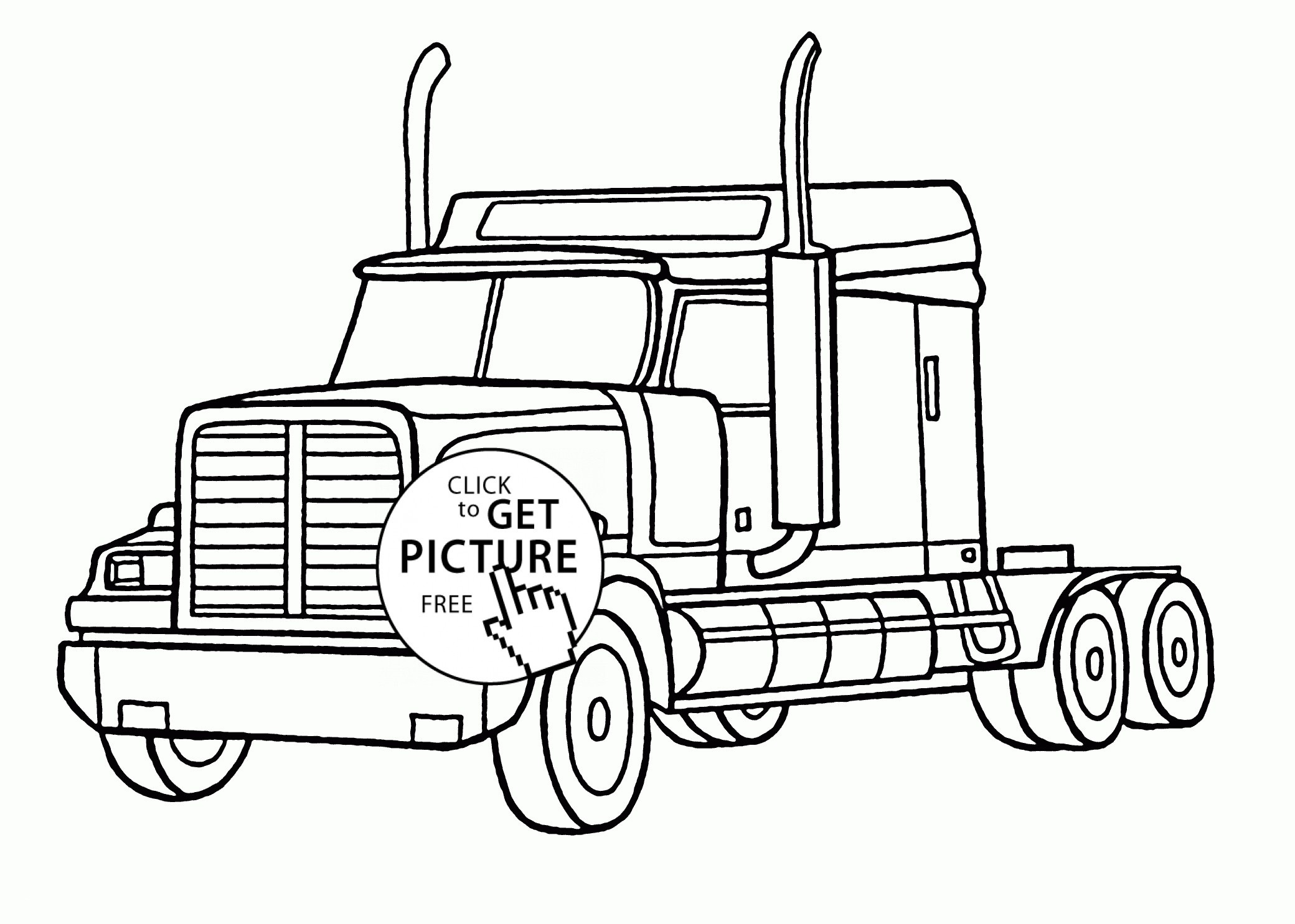 Ford Truck Coloring Pages  Printable 10q - Free Download
