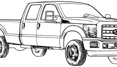 Ford Truck Coloring Pages - ford Truck Coloring Pages 01 Coloring Pages Pinterest