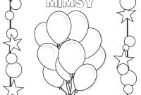Frecklebox Coloring Pages - Birthday Coloring Page Kiddos Holiday Seasonal