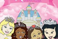 Frecklebox Coloring Pages - Personalized Princess Coloring Book