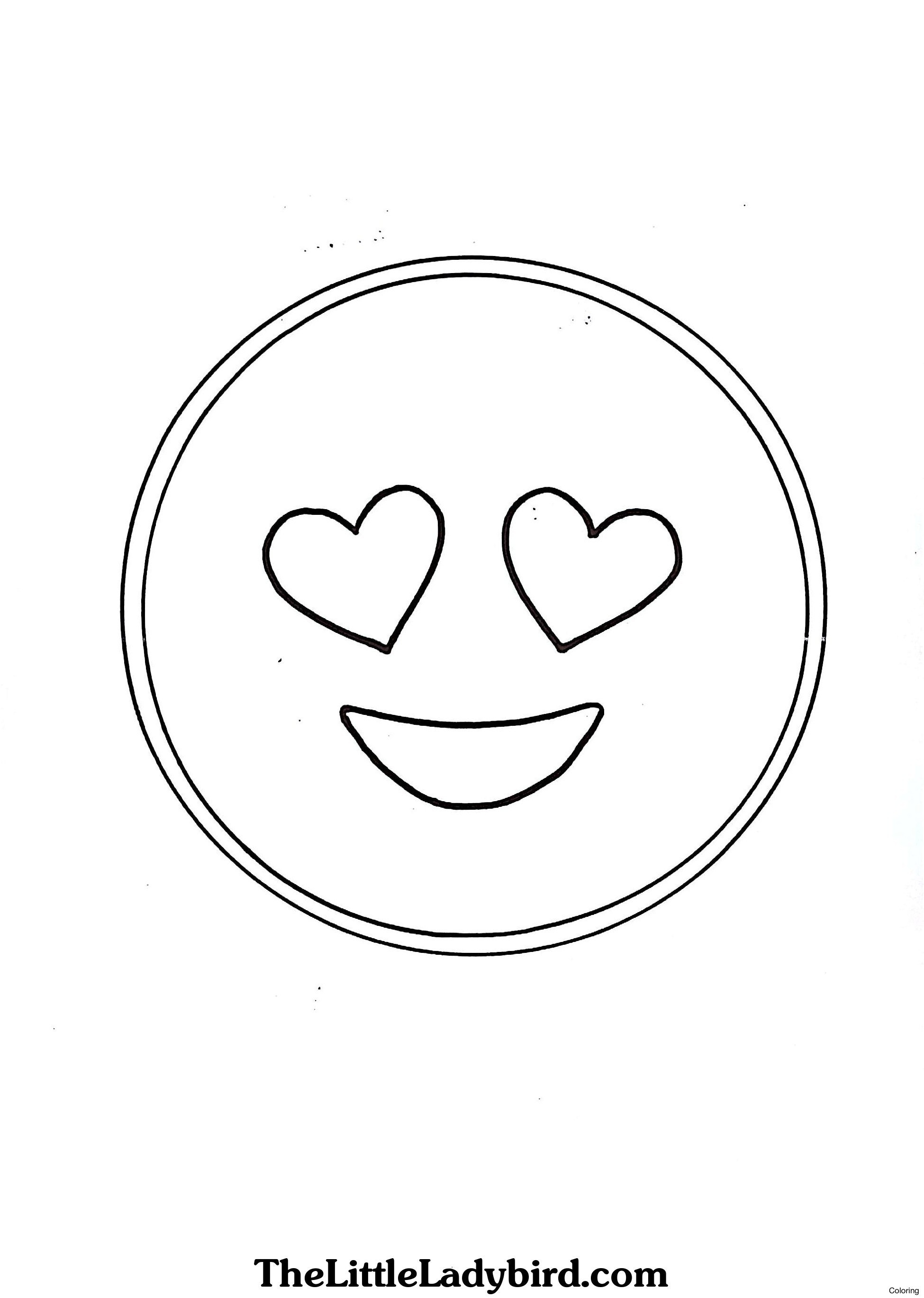 Free Emoji Coloring Pages  to Print 18h - To print for your project