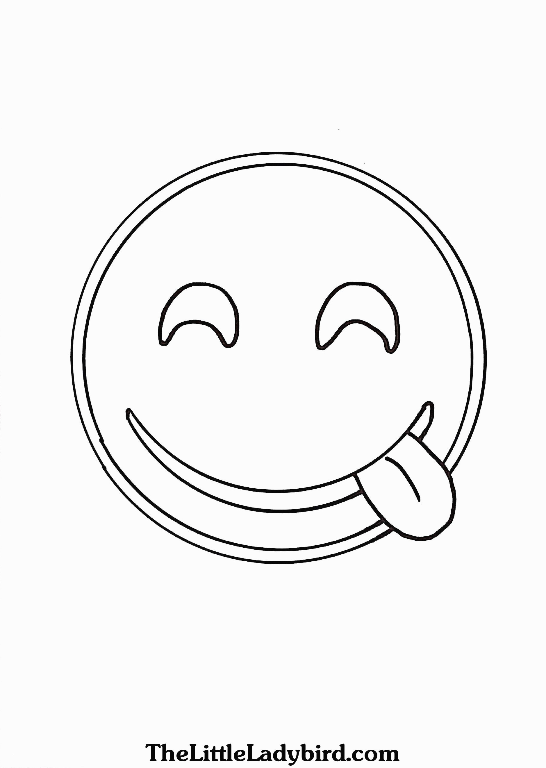 Free Emoji Coloring Pages  to Print 13b - Free For Children