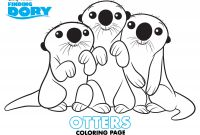Free Finding Dory Coloring Pages - Finding Dory Coloring Pages