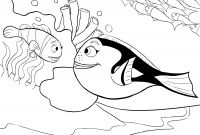 Free Finding Dory Coloring Pages - Nemo Coloring Page Nemo Coloring Pages Lovable Finding Nemo Coloring