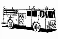 Free Fire Truck Coloring Pages Printable - 35 Best Truck Coloring Pages