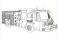 Free Fire Truck Coloring Pages Printable - Exciting Fire Truck Coloring Pages S Coloring Pages Picture