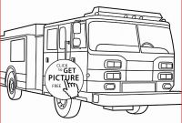 Free Fire Truck Coloring Pages Printable - Fire Truck Coloring Pages 131 Coloring Pages Fire Trucks Beautiful