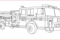 Free Fire Truck Coloring Pages Printable - Fire Truck Coloring Pages 131 Free Fire Truck Coloring Pages