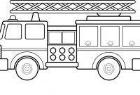Free Fire Truck Coloring Pages Printable - Fire Truck Coloring Pages Sample thephotosync