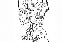 Free Printable Day Of the Dead Coloring Pages - 16 Awesome Free Printable Skeleton Coloring Pages