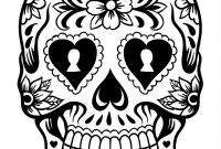 Free Printable Day Of the Dead Coloring Pages - Day the Dead History — Latest News and S — Cryptic