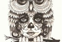 Free Printable Day Of the Dead Coloring Pages - Girl Owls Coloring Pages