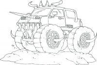 Free Printable Monster Truck Coloring Pages - Coloring Pages Monster Trucks Grave Digger Kids 13 Luxury