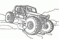 Free Printable Monster Truck Coloring Pages - Malvorlagen Monster Truck Gratis