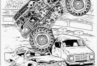 Free Printable Monster Truck Coloring Pages - Monster Trucks Coloring Pages Monster Truck Coloring Pages Admirably