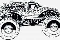 Free Printable Monster Truck Coloring Pages - Printable Coloring Pages Monster Trucks