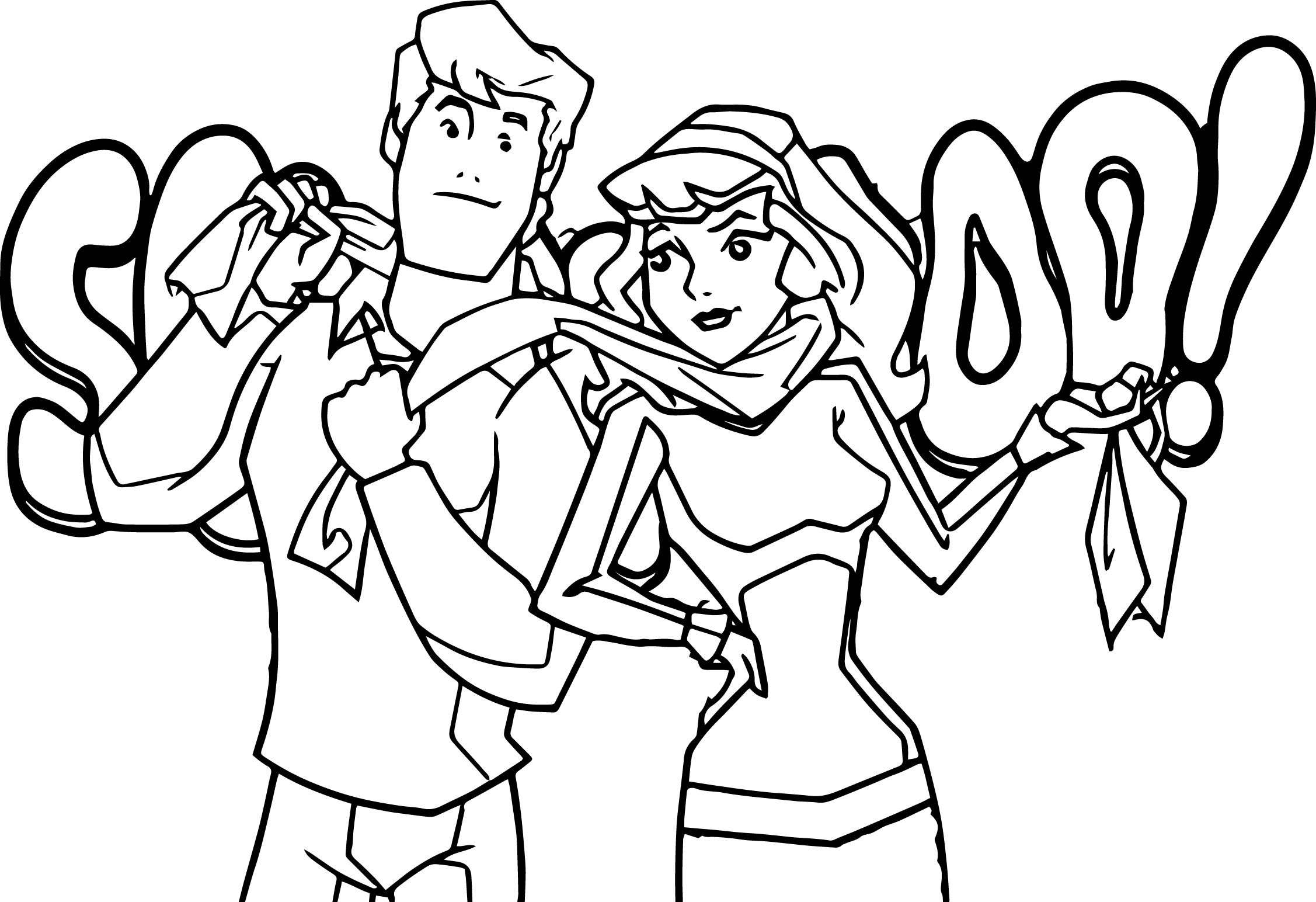 Free Printable Scooby Doo Coloring Pages  Gallery 10g - Free For Children