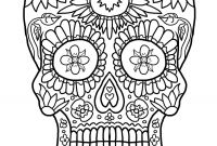 Free Printable Skull Coloring Pages - Day Dead Skull Coloring Page Inspirational Cool Coloring Page for