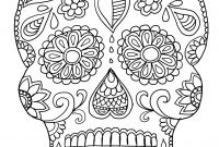 Free Printable Skull Coloring Pages - Elegant Sugar Skull Coloring Pages Coloring Pages