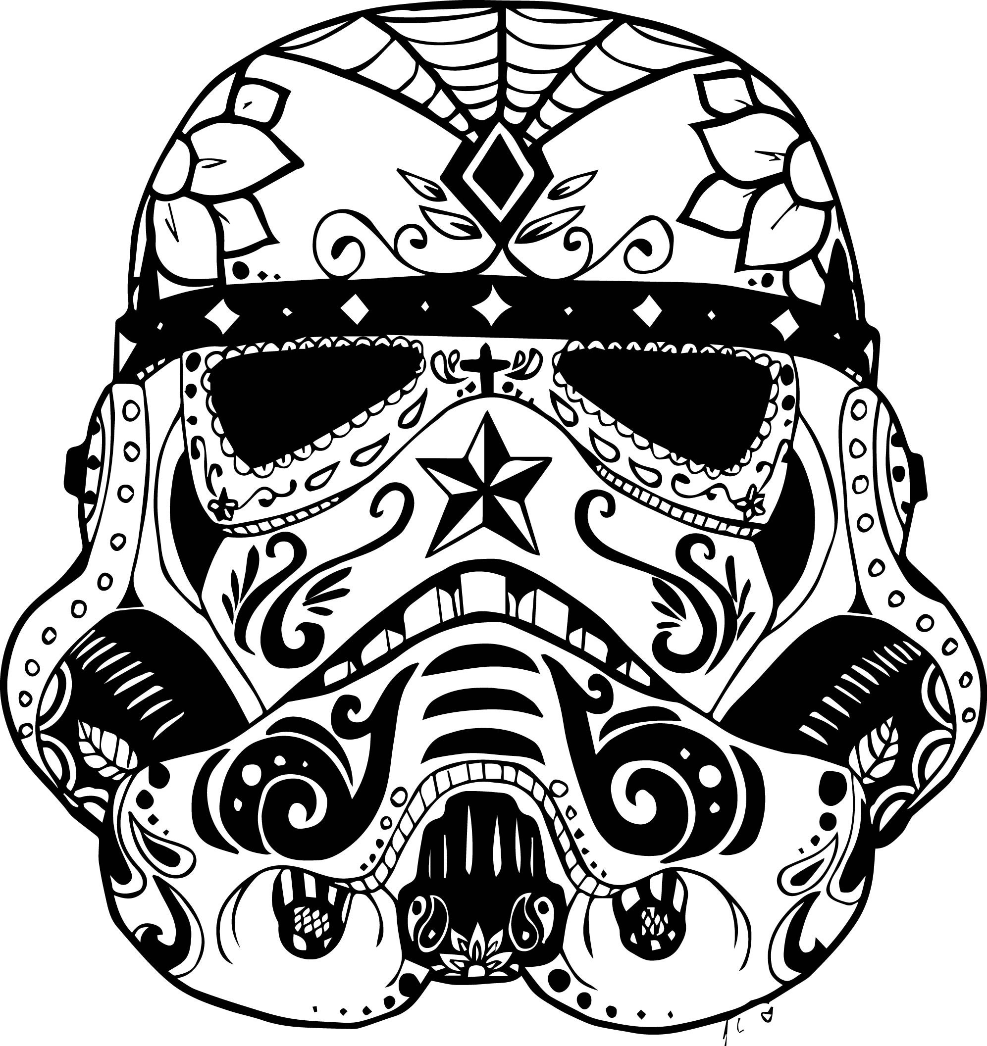 Free Printable Skull Coloring Pages  Printable 1b - Free For kids