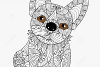 Free Printable Zentangle Coloring Pages - Zentangle Coloring Pages Animals Lovely Charming Dog Coloring Book