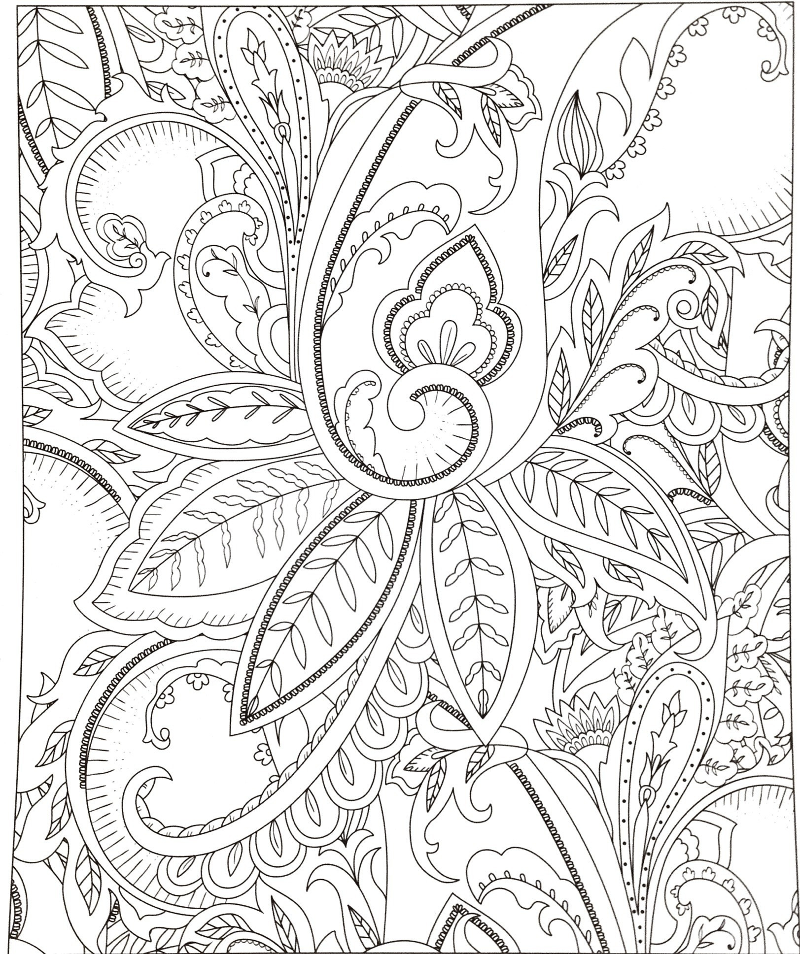 Garden Coloring Pages  to Print 4a - Save it to your computer