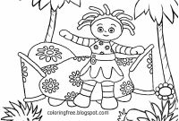 Garden Coloring Pages - In the Night Garden Colouring Pages Idaes De Design Kids