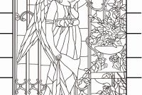 Gay Coloring Pages - Stained Glass Coloring Pages Christmas Elegant Coloring Pages