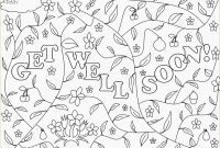 Get Well soon Coloring Pages - Printable Get Well Cards