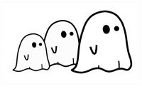 Ghost Printable Coloring Pages - Luxury Cute Ghost Coloring Pages