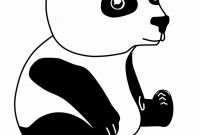 Giant Panda Coloring Pages - Fresh Animated Panda – Yepigames
