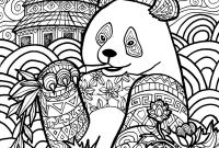 Giant Panda Coloring Pages - therapy Coloring Pages to and Print for Free