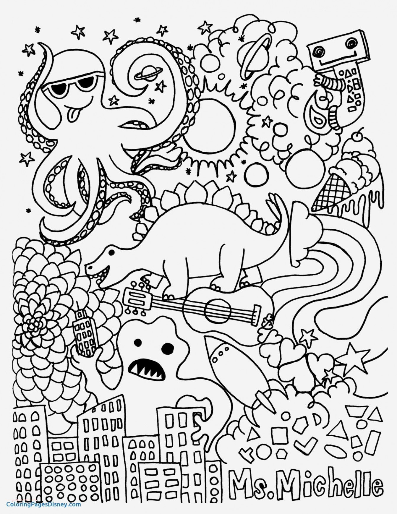 Gifts Coloring Pages  Printable 17a - Free For kids
