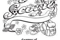 Girl Scout Brownie Coloring Pages - Girl Scout Coloring Pages Coloring Home