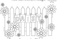 Girl Scout Brownie Coloring Pages - Girl Scout Pledge Coloring Page Daisy Scouts