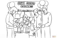 Girl Scout Coloring Pages - Girl Scout Coloring Pages and Girl Scout Activity Sheets Coloring