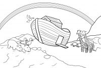 God's Promise Rainbow Coloring Pages - Noahs Ark Coloring Pages Pdf Sample Coloring Download Printable Pdf