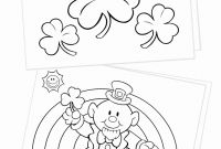 God's Promise Rainbow Coloring Pages - St Patrick Day Color