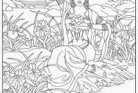 Gospel Light Coloring Pages - Deborah Bible Coloring Page