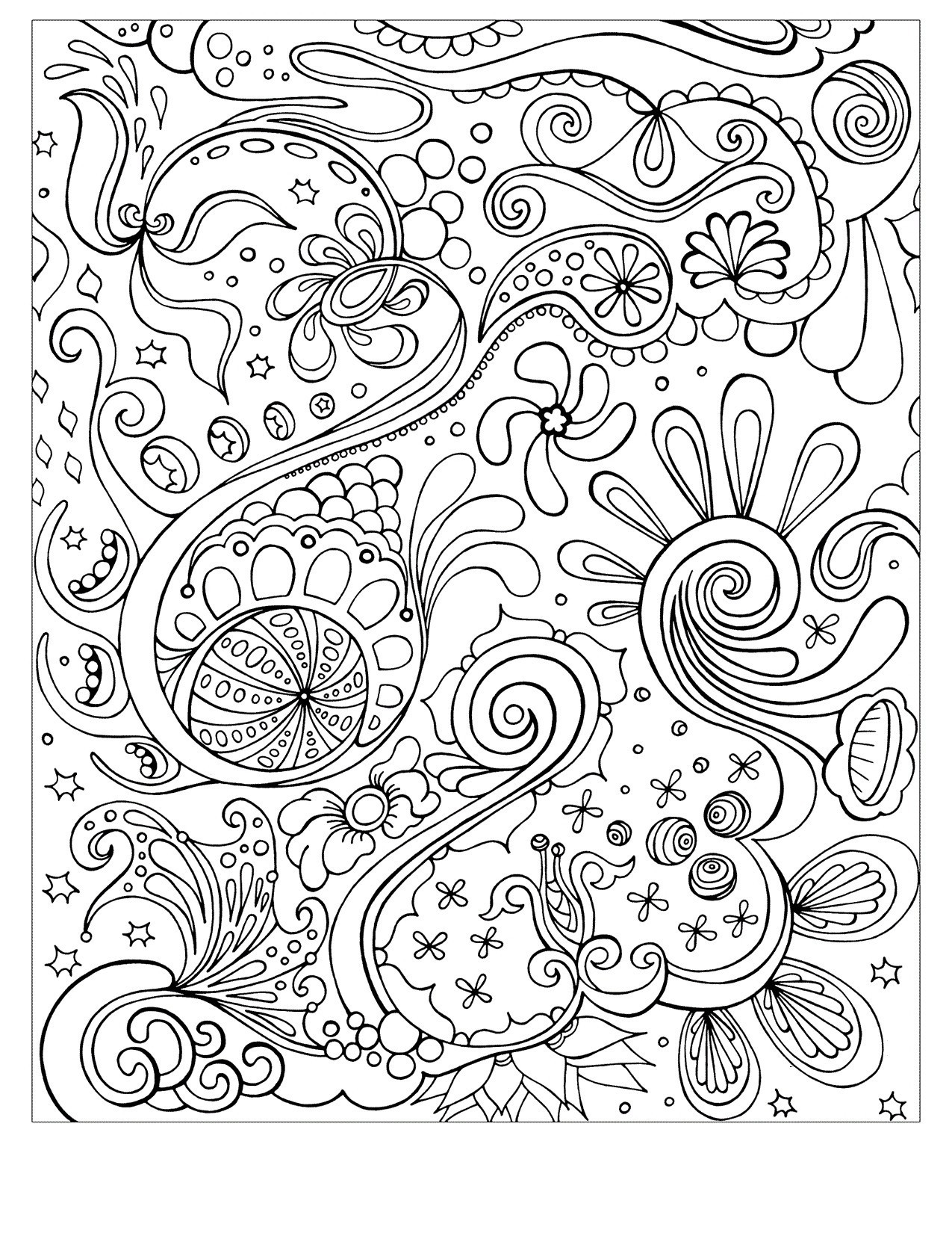 Grayscale Coloring Pages  Download 8n - Free For kids