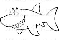 Great White Shark Coloring Pages - Baby Great White Shark Coloring Pages Great White Shark Coloring