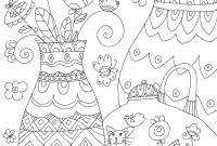 Grid Coloring Pages - Interesting Color Grid